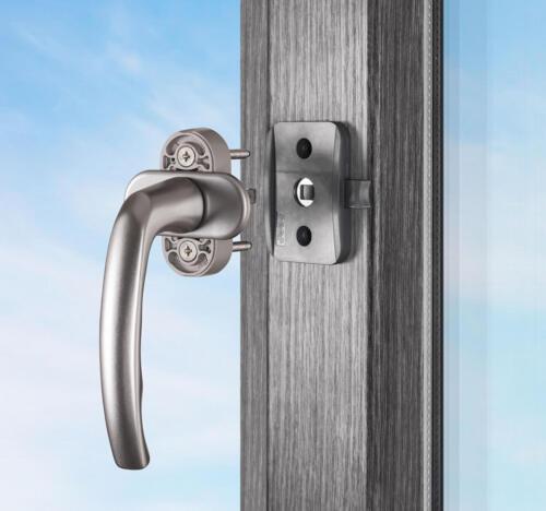 anthrazit NEU Reer WinLock Fenstersicherung und Balkontürsicherung