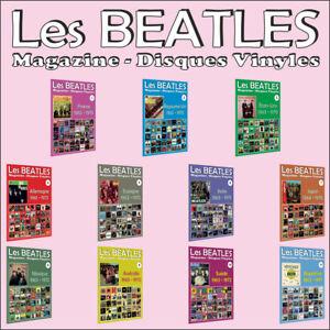 11-x-Les-Beatles-Magazine-Disques-Vinyles-France-Royaume-Uni-Etats-Unis