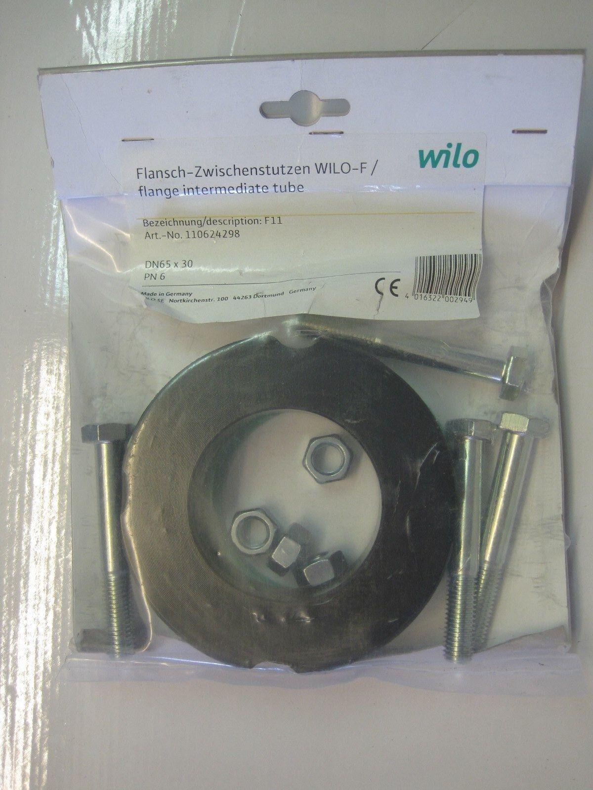 Wilo Flansch-Zwischenstutzen F11 DN65 x 30 mm Art-Nr: 110624298   NEU