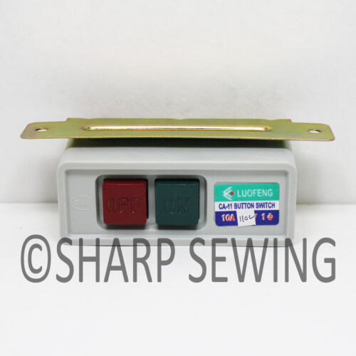 Wire Not Included On /& Off Switch For Industrial Sewing Machine Motor 110 Volt