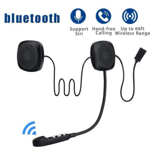 Motorcycle Helmet Headset Wireless Bluetooth 5.0 Headphone Speaker Hands-Free