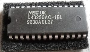 IC D43256AC-10L Static CMOS RAM, 1 Stück NOS, NEC