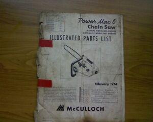 3200 Mac Chainsaw Manual