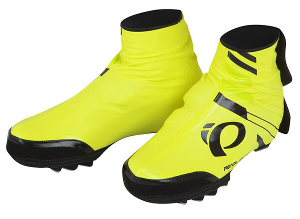 Pearl Izumi 2017 P.R.O. PRO Barrier WxB MTB shoes Covers Booties Yellow Small