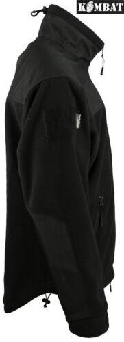 Defender Military Army Combat Tactical Fleece Zip Jacket Recon Top Black Green