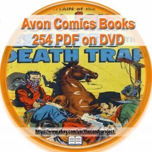CD 28 WILD BILL HICKOK AVON Golden Age Comic Books Complete Run WESTERN