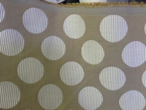 Heavy Upholstery Fabric Beige and cream