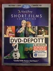 Walt Disney Animation Studios Short Films Collection Blu Ray Dvd