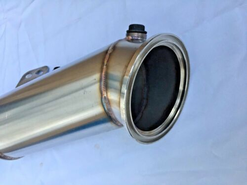"""4/"""" STAINLESS STEEL DECAT TURBO EXHAUST DOWNPIPE FOR BMW F30 F32 F33 B58 D246"""