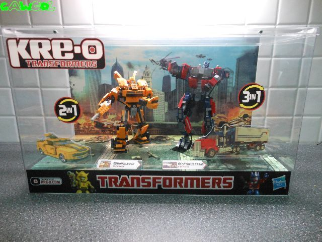Extremely rare transformers kre-o shop display NEW IN BOX