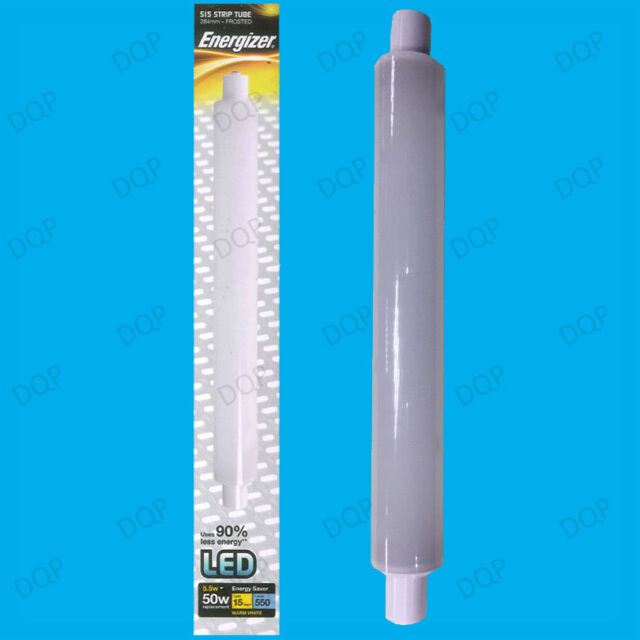 1x 5.5W (=50W) LED 284mm Frosted Double Ended Tube S15 Linear Strip Light Bulb