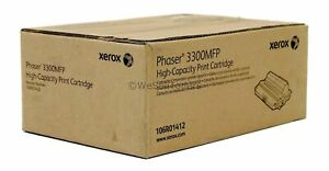 Xerox-106R01412-Black-Toner-Cartridge-Phaser-3300-Genuine-New-Sealed-Box
