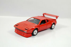 Gama-891-Mini-BMW-M1-Rojo-Rojo-Metal-Coche-Modelo-1-43-K33-02