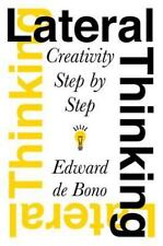 Lateral Thinking : Creativity Step by Step by Edward de Bono (2015, Paperback)