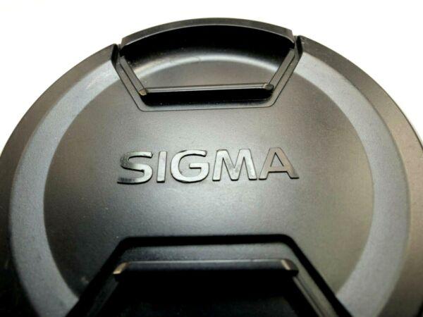 Copieux Sigma 77mm Avant Lentille Casquette Snap On Type Authentique Original Ex Apo