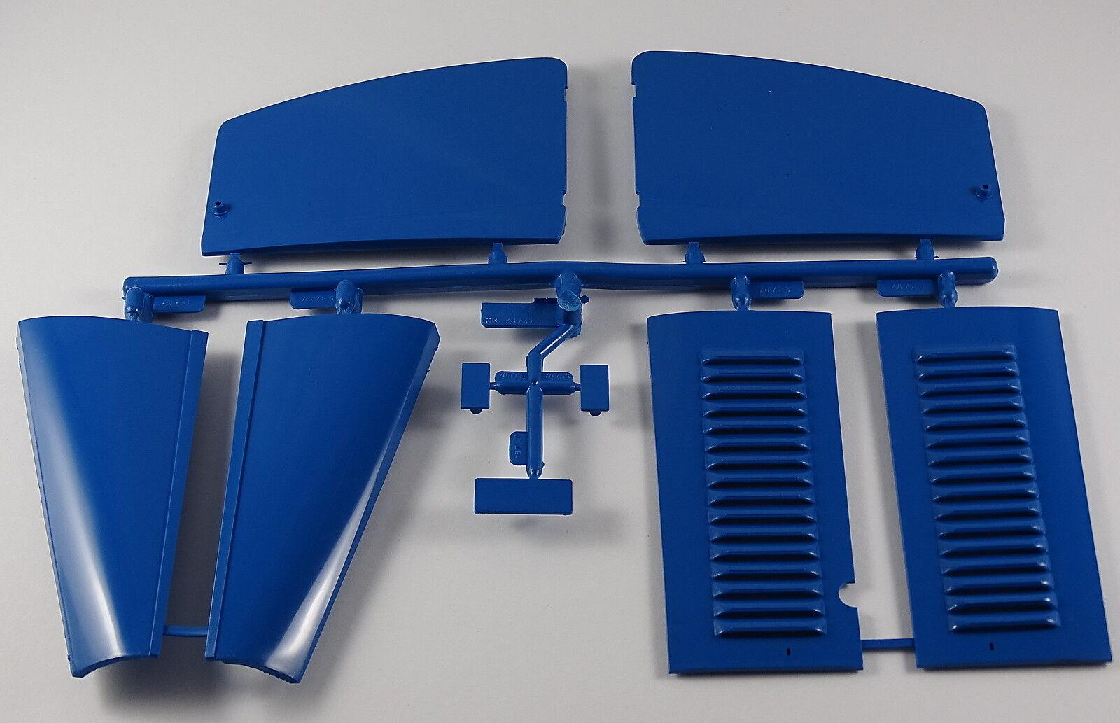 POCHER 1 8 compartiment moteur capot Portes Set Bugatti Coupe De Ville 84-42 a1 Bleu