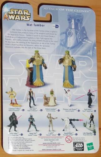 STAR WARS U CHOOSE R2-G4 Storm Trooper Boba Fett Ayy Vida Ozzel Jan Bail Lama Su