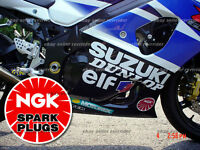 Ngk Spark Plug Decal Sticker For Car Or Motorcycle