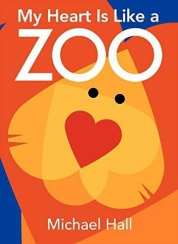 1 of 1 - My Heart Is Like a Zoo Board Book-ExLibrary
