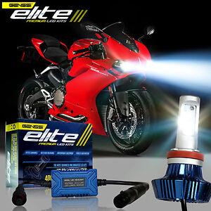 led headlight bulb xenon hid kit for ducati 959 panigale 1299 (2