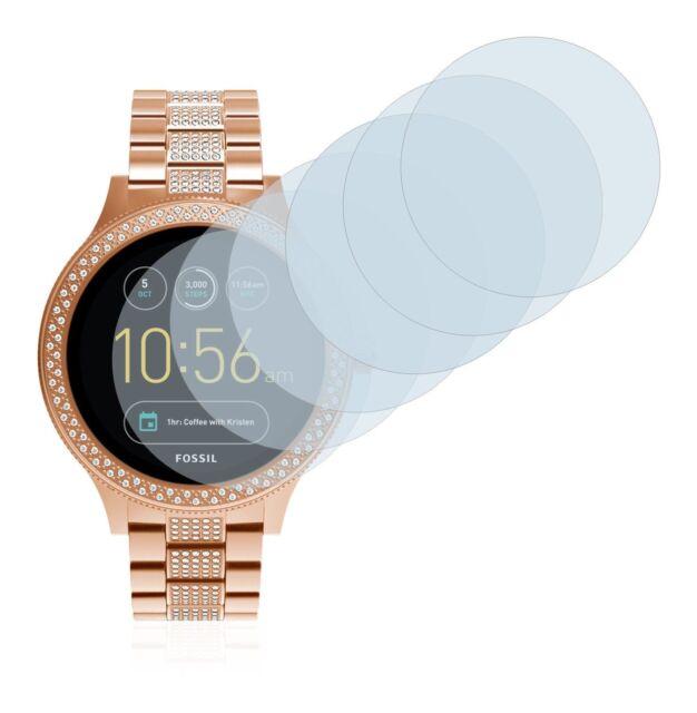 Fossil Q Venture  Smart Watch,  6x Transparent ULTRA Clear Screen Protector