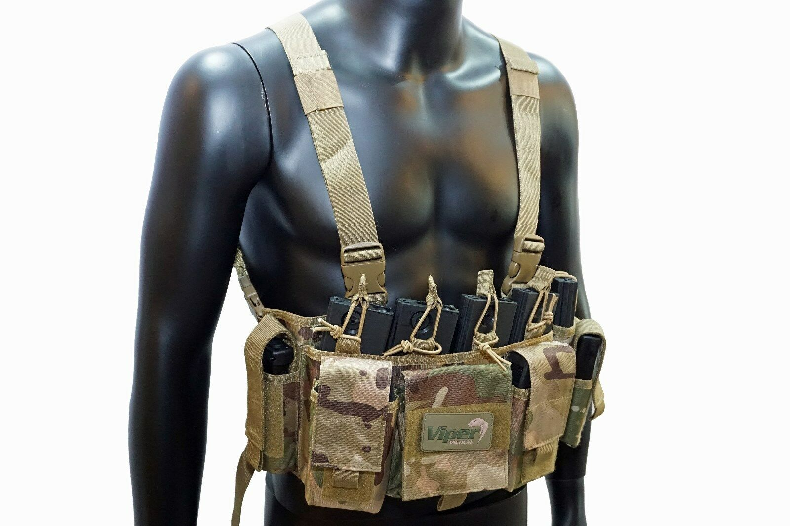 Viper Tactical Special Ops Chest Rig Weste Vest Paintball Airsoft PaintNoMore