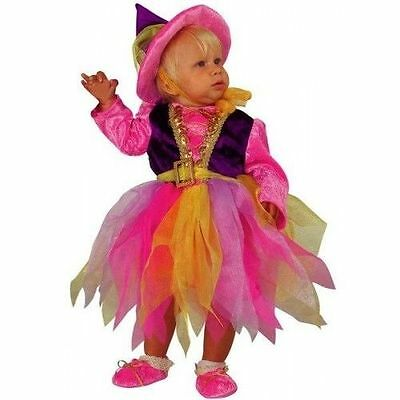 Ultima Raccolta Di Vestito Costume Carnevale Baby Streghetta Strega 0 1 2 Anni 6 12 18 24 Mesi