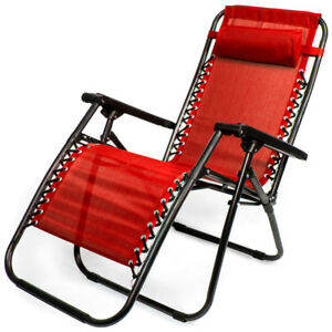 Groovy Details About Zero Gravity Folding Lounge Chair For Patio Beach Sports Concerts Select Color Gmtry Best Dining Table And Chair Ideas Images Gmtryco