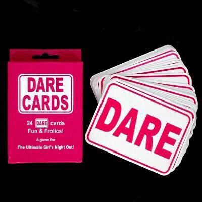 24 Adult Pink Hen Party Girl/'s Night Out Naughty Fun Game Dare Cards