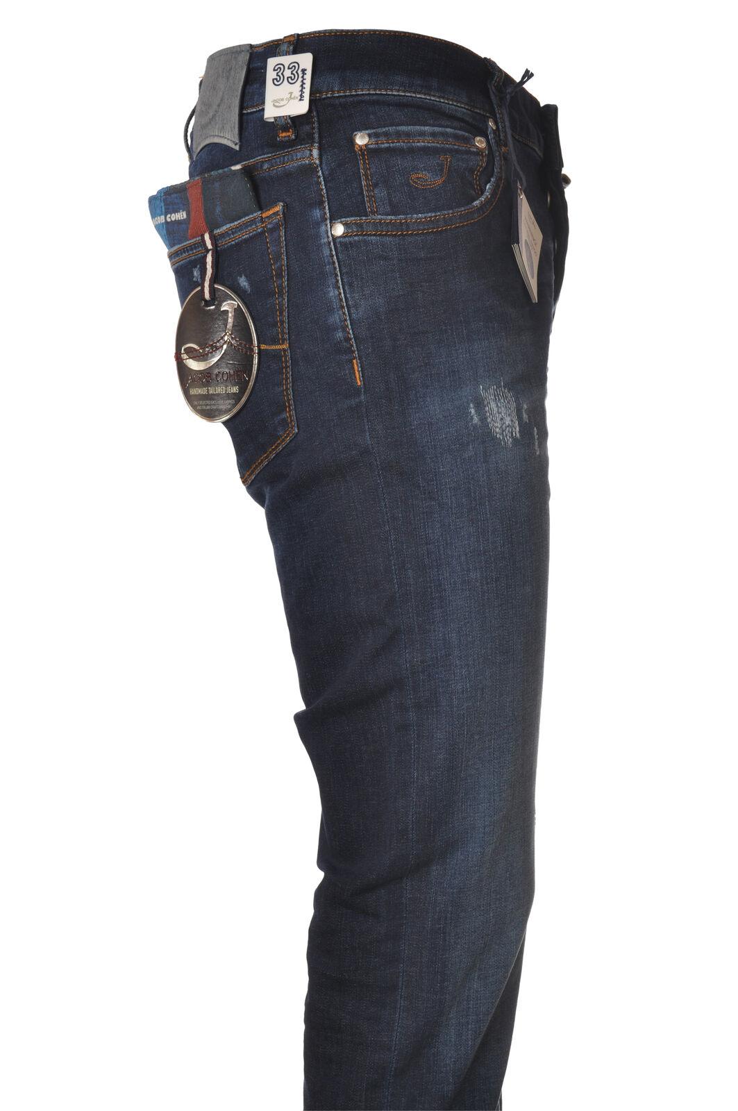 0fc8cb4c86 Jacob Cohen - Jeans-Pants - Man - Denim - 5680310C191834  nsixnm29618-Trousers