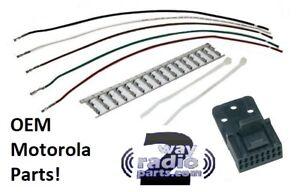 Kit 3 Accy Plug 16 Pin Motorola Maxtrac GM300 Repeater