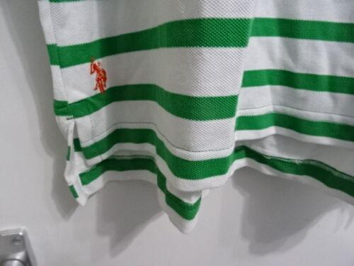 € 44.00 Da Uomo US Polo Assn Verde Mix Manica Corta Polo RRP