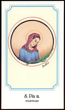 santino-holy card S.PIA M. IN NUMIDIA