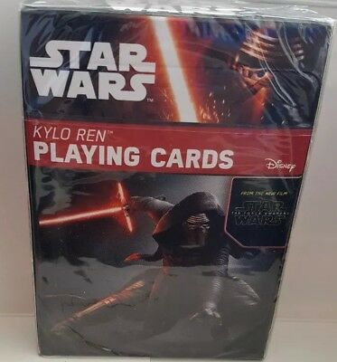 Star Wars Kylo Ren Playing Cards Poker Unique Art Work The Force Awakens New 689791737960 Ebay