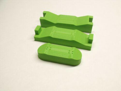 DIY Fingerboard Mold 3D Printed 40mm Wide With Fingerboard 32mm Wide Shaper