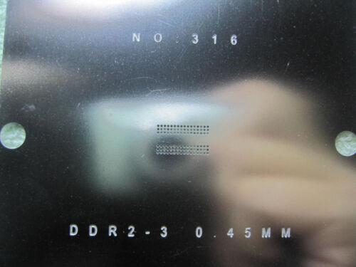 9*9 H5TQ1G63BFR-H9C H5TQ1G63BFR-12C H5TQ1G63BFR-G7C 11C BGA96 Stencil Template