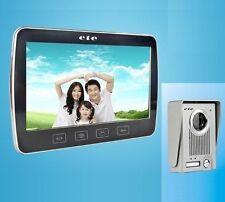 """Videocitofono 10"""" colori visione notturna video citofono telecamera monitor LCD"""