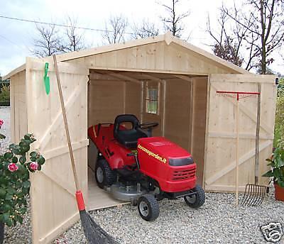 Casetta box in di legno 320x430 porta doppia casette da for Casette in legno usate ebay