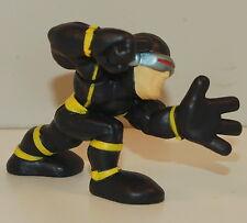 "2007 Black Yellow Cyclops Scott Summers 2"" Marvel X-Men Hasbro Super Hero Squad"
