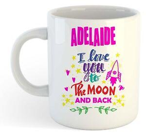 Adelaide - I Love You To The Moon And Back Tasse - Drôle Nommé Valentin Tasse WuBP8Fsk-08064150-294058018
