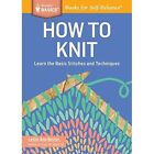 How to Knit by Leslie Ann Bestor (Paperback, 2014)