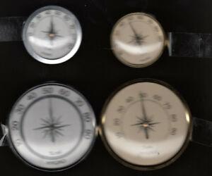 Hygromètre Set, 45 + 70 Mm, Analogique, Installation-construction, Deutsches Marque-afficher Le Titre D'origine Vous Garder En Forme Tout Le Temps