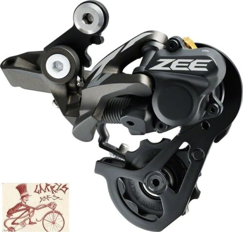 SHIMANO ZEE M640-SSC SHADOW 10-SPEED DOWN HILL MTB REAR BICYCLE DERAILLEUR