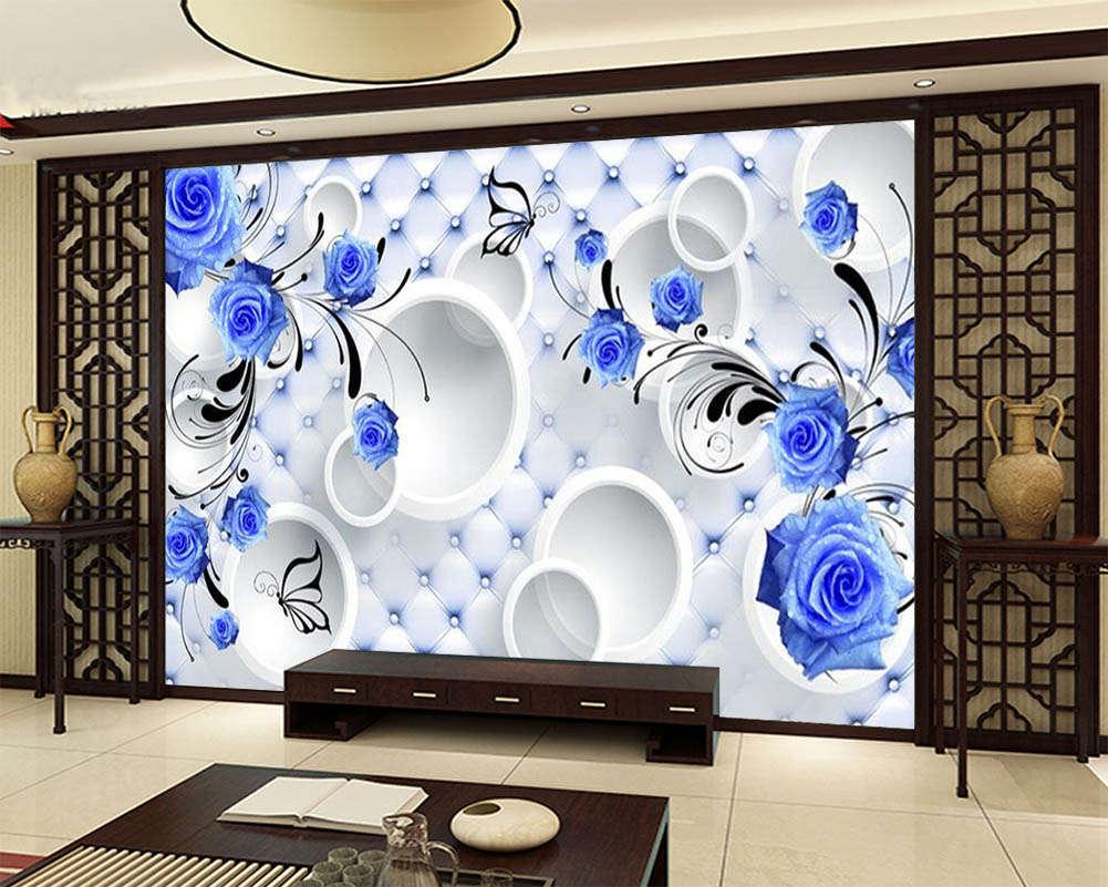 Beautiful Blau Demon Ji 3D Full Wall Mural Photo Wallpaper Print Home Kids Decor