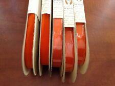 "10 Yards 5//8/"" Rouille Velvet Vintage Ribbon Fabric Made in France"