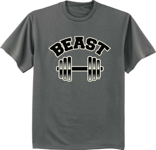 Big and Tall t-shirt funny saying beast weightlifting workout tee shirts
