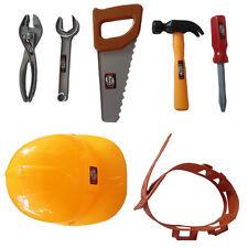 Kids 7 pcs Tool Belt Set Construction Bob The Builder Plastic Accessories Fancy
