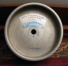 "Lortone 8"" Rubber Expandable Drum EX83 Lapidary Rock Gemstone Polishing Machine"