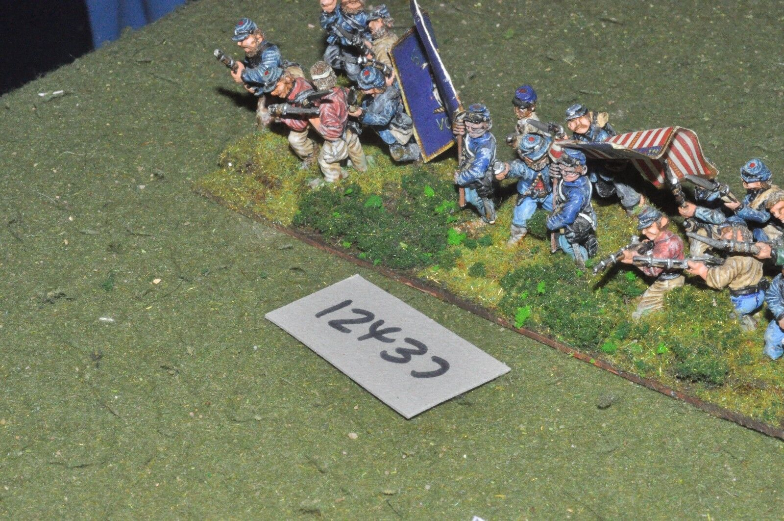 25mm ACW   union - american civil war infantry 16 figures - inf (12437)
