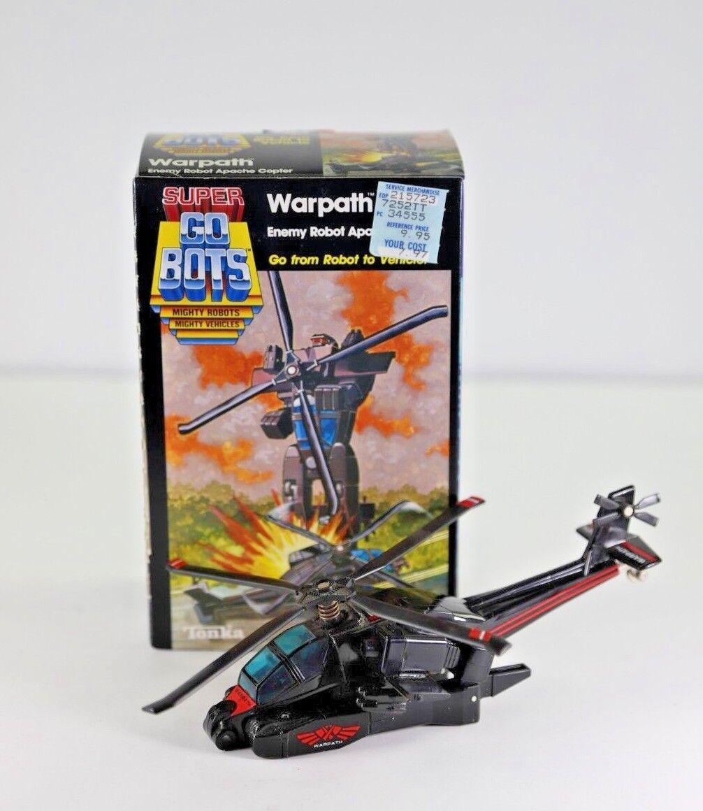 Tonka Super Gobots 1985 Warpath with box